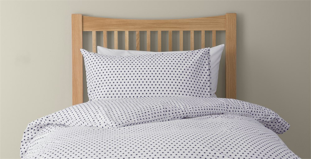 Stars Bed Linen Select Colour